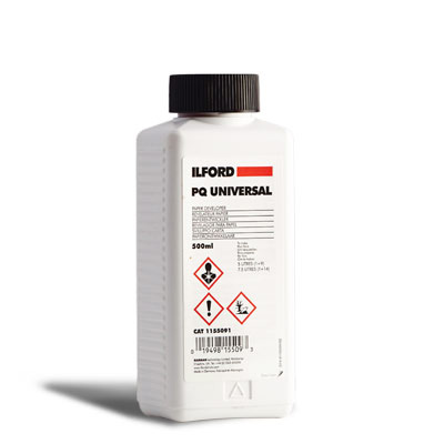 ILFORD PQ UNIVERSAL RIVELATORE CARTA 500 ML.